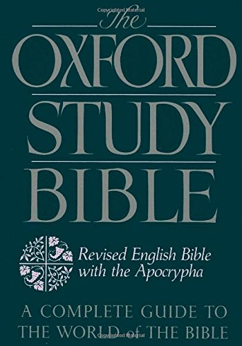 The Oxford Study Bible: Revised English Bible with the...