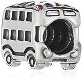 Pandora Union Jack Bus Charm Bead - 791049ER