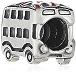 Pandora Union Jack Bus Charm Bead - 7...