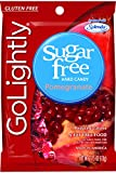 GoLightly Sugar Free Pomegranate Candy, 2.75-Ounce Bags (Pack of 12)