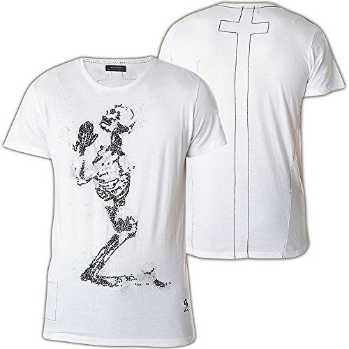 Religion -  T-shirt - Short-Sleeve Maniche corte - Uomo Nero  Bianco