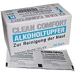Alkoholtupfer - steril - 3 x 3 cm - 1...