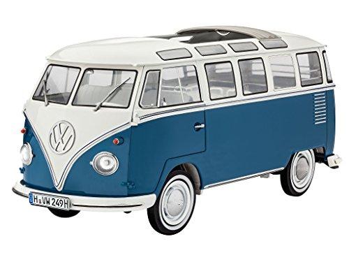 Revell 07009 - Modellbausatz - VW Typ 2 T1 Samba Bus im Maßstab 1:16