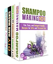 Hair Care Box Set (4 In 1): All-natural Recipes To Make Hair Strong And Shiny (diy Beauty Products & Hair Care)