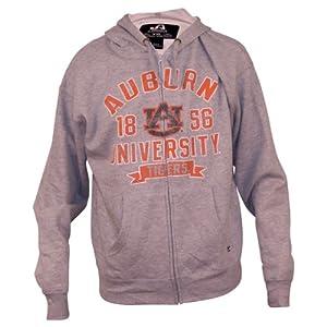 Auburn Tigers Student Full Zip Hoodie (grey) by J. America