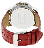 Tommy Hilfiger Women's 1780819 Red Leather Strap Watch