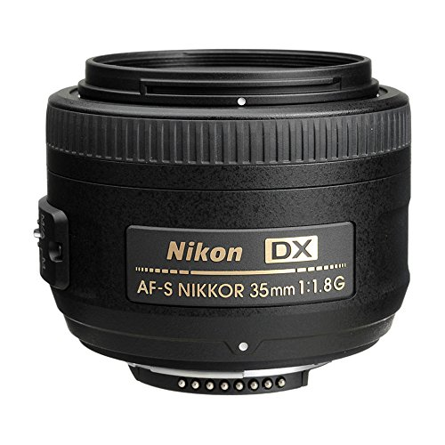 NIKON 35MM F/1.8G LENTE AF-S DX PARA CÁMARAS DIGITALES SLR DE NIKON