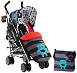 Cosatto Supa Stroller with Change Bag (Cuddle Monster)