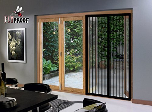 Magnetic screen door for patio doors premium quality mesh for Quality patio doors
