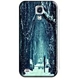 Phones Accessories Beautiful White Snow Tree Vellege Design Cases For Samsung Galaxy S4 i9500 # 1 by Snowcase