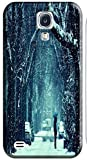 Phones Accessories Beautiful White Snow Tree Vellege Design Cases For Samsung Galaxy S4 i9500 # 1