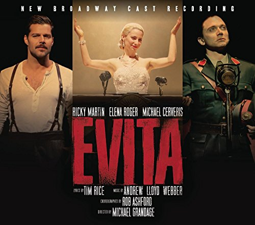 Ricky Martin - Evita (New Broadway Cast Recording) - Zortam Music