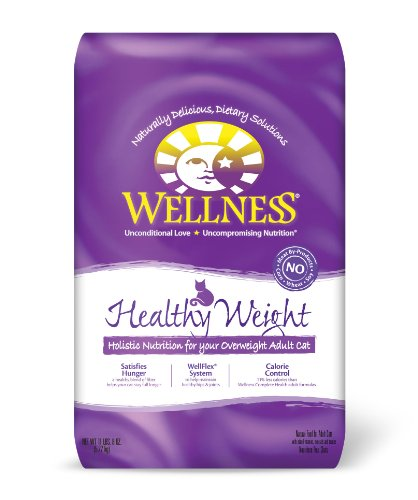 Detail image Wellness Healthy Weight Adult Cat Food, 11-1/2-Pound Bag