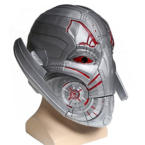 New Halloween Ultron Helmet Party Masquerade Adults Full Head PVC Mask for Sale