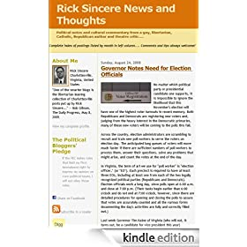 Rick Sincere News and Thoughts
