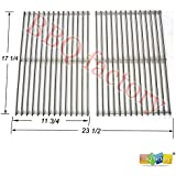 bbq factory JGX527 9869 JGX526 JGX525 Stainless Steel ROD BBQ Replacement Cooking Grill ROD Grid Grate for Weber 7527, Lowes Model Grills