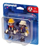 Toy - PLAYMOBIL 4914 - Duo Pack Feuerwehrtrupp