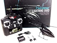 Helizone Lightning Bird WL V911 4 Channel Single Rotor 2.4 Ghz Remote Control Helicopter - Special Edition with upgraded battery from Helizone RC
