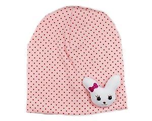 BONAMART ® Infant Children Toddler Newborn Baby Girl Boy Small White Rabbit Cute Design Knitted Hat Cap