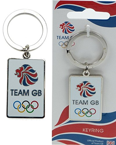 team-gb-official-london-2012-olympic-memorabilia-metal-key-ring-of-team-gb-lion-with-olympic-five-ri