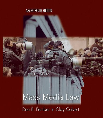 Mass Media Law
