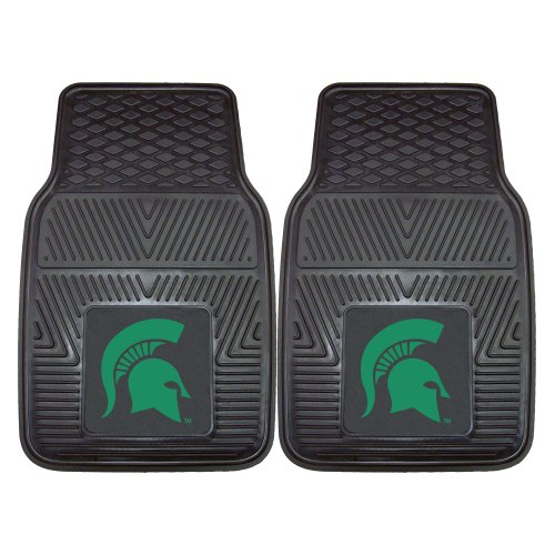 FANMATS NCAA Michigan State University Spartans Vinyl Heavy Duty Car Mat (Michigan State Car Mats compare prices)
