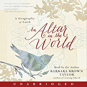 An Altar in the World Audiobook