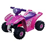 Lil RiderTM Pink Princess Mini Quad Ride-on Car Four Wheeler