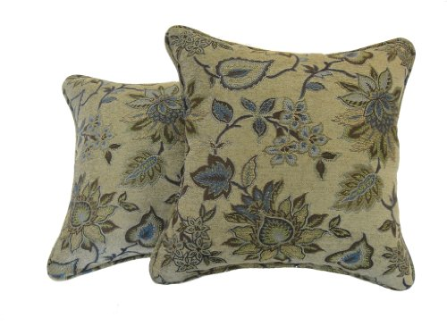 Decorative Pillows Newport Layton Home Fashions : Newport Layton Home Fashions 2-Pack Boleyn Pillow, Summer