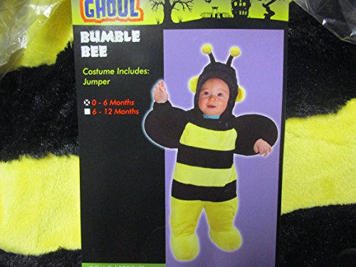 Totally Ghoul Plush Bumble Bee Jumper Costume 0-6 Months