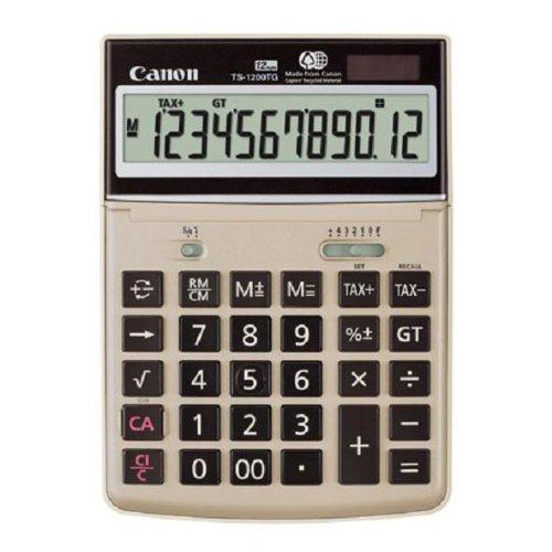 Canon TS-1200TG 12-Digit Green Desktop Calculator