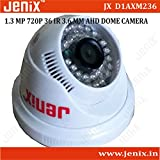 Jenix CCTV Camera 960P 1.3MP AHD HD CCTV Camera Indoor Type 36 IR LED Night Vision AHD DVR Model JX-D1AXM236