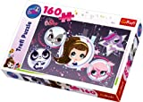 Trefl Puzzle Super Stars Hasbro Littlest Pet Shop (160 Pieces)