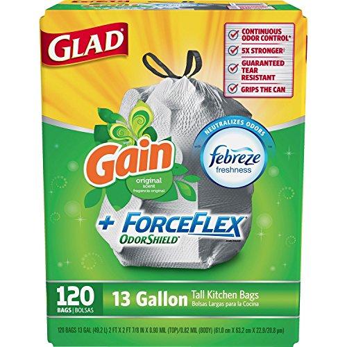 glad-forceflex-tall-kitchen-13-gallon-trash-bag-with-odor-shield-gain-original-scent-120-count