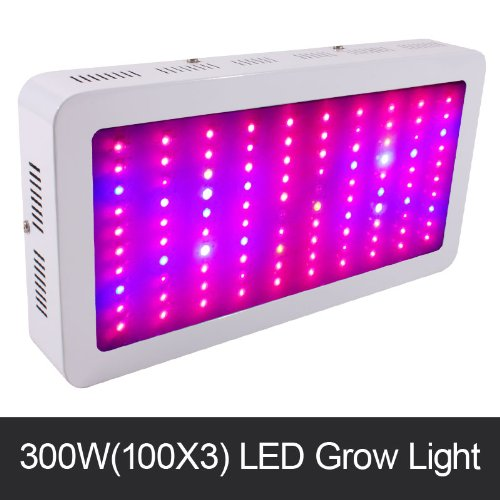New Arrival Hydroponic Plants Led Grow Light 300W Full Spectrum 100X3W Grow Lamp Panel For Medicinal Flowering