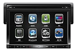 See Soundstream 1-DIN Bluetooth In-Dash DVD Receiver w/ 7