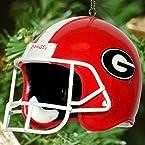Football Helmet Ornament - Georgia