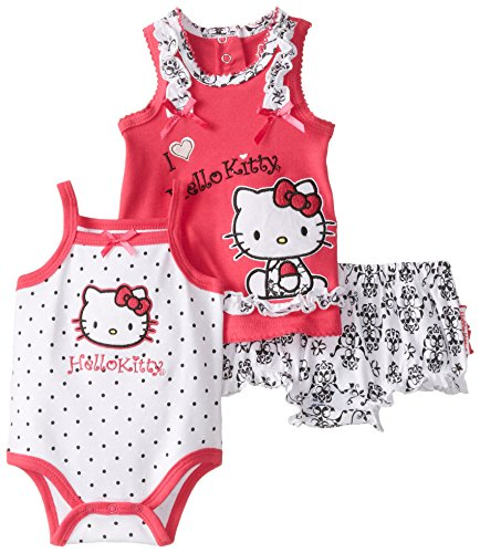 Hello Kitty Baby-Girls Newborn Printed Diaper Set