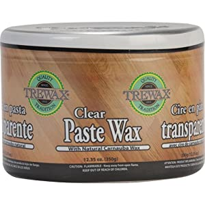 Amazon Com Trewax Paste Wax Clear 12 35 Ounce Home