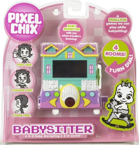 pixel chix babysitter house