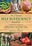 Cover of The Self-Sufficiency Handbook by Alan Bridgewater 1616087102