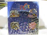 4 Piece Disney Pin Starter Set Epcot Center Set 2009