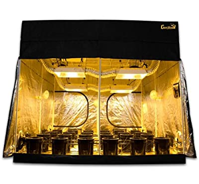Grow Room 9x9 SuperCloset SuperRoom Hydroponic System Grow Tent Package