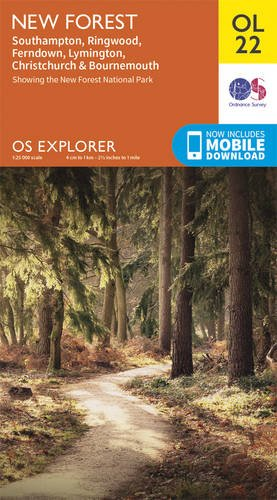 New Forest (OS Explorer Map)