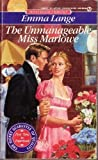 img - for The Unmanageable Miss Marlowe (Signet Regency Romance) book / textbook / text book