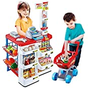 ToyTree (TM) Battery Operated Home Super Market Set With Shopping Basket..- Educational And Interactive Toy