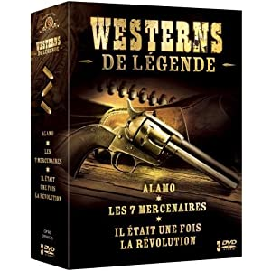 Westerns de légende - Coffret 3 DVD