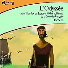 L'Odyssée | Livre audio Auteur(s) :  Homère Narrateur(s) : Clothilde de Bayser, Michel Wuillermoz