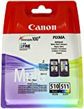 Canon CL511-PG510 Ink Catridge for Pixma MP495 (Pack of 2)