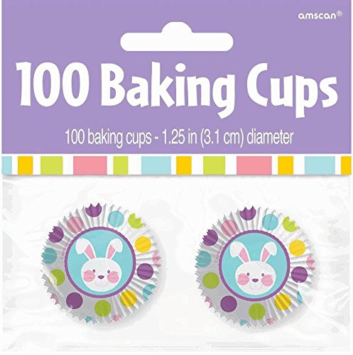 bake cup 100ct easter mini